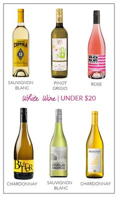 The Best White Wine Brands Under $20 (My Favorite Summer Wines!!) | Progression By Design