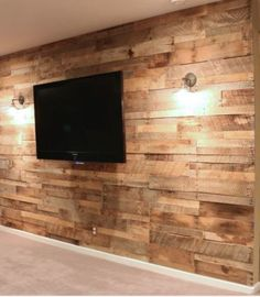 Reclaimed Rustic Pallet Wall Timber Wall