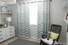 boys-bedroom-nursery-chevron-curtains-ombre-remodelaholic.com