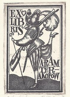 Who designed this bookplate?