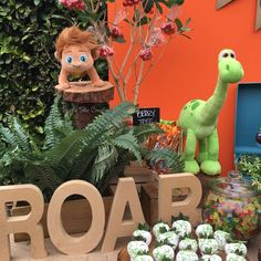 """Good Dinosaur"" Birthday Party Ideas | Photo 5 of 8"
