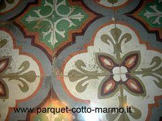 pastine liberty | Pavimenti in Cementine liberty (o pastine) - Pavimenti a Roma