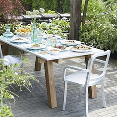 Mallorca Aluminum Arm Chair in All Paola Navone | Crate and Barrel - would adore this outside