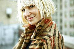 Sia Furler, also known as one of the most silly, creative, talented women I have ever had the pleasure of listening to.