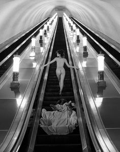 Going up? Photo by Patrick Lichfield # Going up? Photo by Patrick Lichfield # Nude Photography, Black And White Photography, Stunning Photography, Inspiring Photography, Bb Beauty, British Journal Of Photography, Stairway To Heaven, Photos, Pictures