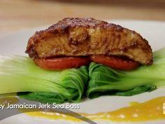 Spicy Jamaican Jerk Sea Bass