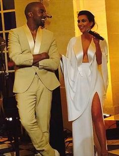 Kim and Kanye's rehearsal dinner.