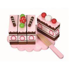 Een Aardbeiencake!