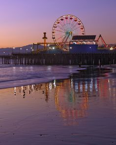 Not ready to say goodbye to summer? Well, it's summer year-round at this historic beach pier...Santa Monica