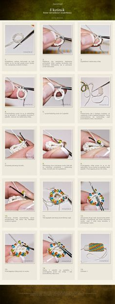 Crochet Tutorial Ideas So hoping this will be an easier way to start bead crochet rope.giving it a try today. Bead Crochet Patterns, Crochet Designs, Beading Patterns, Crochet Stitches, Beading Techniques, Beading Tutorials, Motifs Perler, Bead Crochet Rope, Beaded Crochet