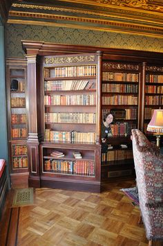 The Hidden Door - - Vickie, emerging from the secret room. Home Library Design, House Design, Library Ideas, Design Desk, Door Design, Bookcase Door, Bookshelves, Hidden Rooms, Hidden House