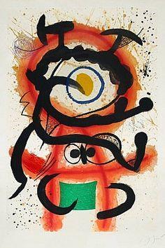 Mambo, 1978, an etching by Joan Miro at Masterworks Fine Art