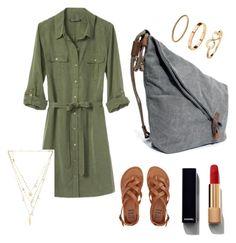 Bez tytułu #4 by anna-mikulska on Polyvore featuring polyvore, fashion, style, Banana Republic, Billabong, Ettika, H&M, Chanel and clothing