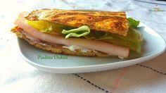 La mia PiadinaDukan è perfetta da utilizzare al posto del pane anche se non si sta seguendo la dieta Dukan, ma semplicemente un regime povero di grassi e carboidrati.