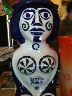 Tiradores de cerveza de Estrella Galicia