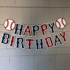 Funny Birthday Wishes - Happy Birthday Time Baseball Party Decorations, Baseball Party Favors, Baseball Banner, First Birthday Decorations, First Birthday Parties, First Birthdays, Theme Parties, Vintage Baseball Party, Baseball Helmet