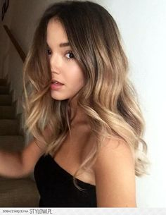Summer Hair Color Trends for 2017 Bronde summer hair color 2017 Related Summer Hairstyles Ideas - weiblich brown balayage hair designs for medium length hair, medium hair color . - Haar Bright Blonde Hair Color Ideas for This Spring 2019 - My Style Hair Color And Cut, Ombre Hair Color, Brown Eyes Hair Color, Blue Eyes, Colour Melt Hair, Natural Hair Color Brown, Hair Colour Ideas, Natural Ombre Hair, Hair Colours