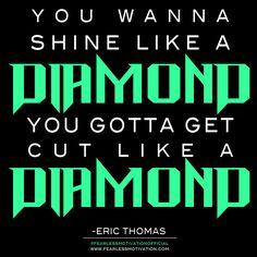 Quotes by Eric Thomas - ET The Hip Hop Preacher. www.FearlessMotivation.com