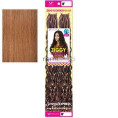 "Vivica Fox Ziggy Goddess Fox Locs 18"" - Color 27 - Synthetic Braiding"