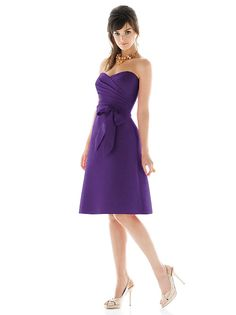 Alfred Sung Style D445 http://www.dessy.com/dresses/bridesmaid/d445/