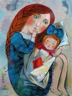 Художник Силивончик Анна Дмитриевна родилась в 1980 году в городе Гомеле. Анна Силивончик принадлежит к числу наиболее ярких индивидуальностей в среде молодых белорусских живописцев. Работая в необычайно самобытном авторском стиле, художник создает свой особый мир, свою собственную систему образов и значений, свое пространство сакрал…