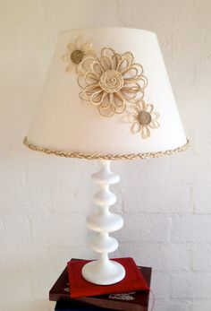 Rustic Country Lampshade by CleverMakings on Etsy, €49.00