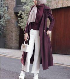 17 Trendy Fashion Winter Hijab Trendy fashion winter hijab Egypt # great ideas for fashionably chic winter great ideas for fashion-chic winter monochrome # trendy skirt winter outfit trendy skirt Modern Hijab Fashion, Hijab Fashion Inspiration, Muslim Fashion, Modest Fashion, Trendy Fashion, Fashion Outfits, Fashion Muslimah, Fashion Shirts, Fashion Fashion