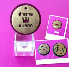 Rings made by Drama Queen