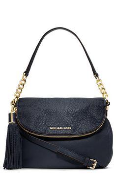 MICHAEL Michael Kors 'Medium' Convertible Leather Shoulder Bag available at #Nordstrom