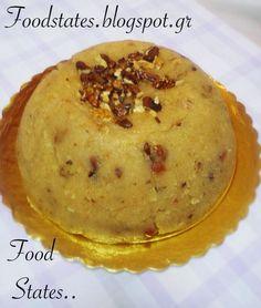 Γιορτινός χαλβάς με σιμιγδάλι - Food States Food Decoration, Cookie Recipes, Pudding, Cookies, Breakfast, Sweet, Ethnic Recipes, Desserts, Blog