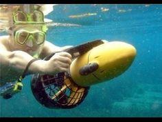 Подводный скутер буксировщик - SeaScooter  / alliex.ru