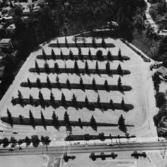 Thirtyfour Parking Lots in Los Angeles by Ed Ruscha, photographs by Art Alanis