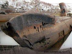 Forgotten Soviet Submarine Graveyard on the Kola Peninsula