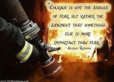 Fire fighting sayings