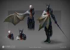 Vampire Knight., Ilya Bodaykin on ArtStation at https://www.artstation.com/artwork/vampire-knight-59c2fe44-a245-4834-aaba-e20648f0231b