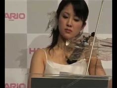 Glass Violin, Glass string quartet - https://www.youtube.com/watch?v=s50DKzxlW2U