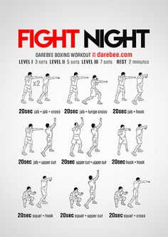 Fight Night Workout                                                                                                                                                                                 More