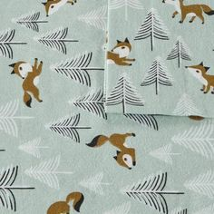 Shop for Intelligent Design Cozy Soft Cotton Novelty Print Flannel Sheet Set. Get free delivery On EVERYTHING* Overstock - Your Online Kids Bedding Store! Twin Sheets, Twin Sheet Sets, Cotton Sheet Sets, Fitted Sheets, Intelligent Design, Bed Ensemble, Egyptian Cotton Sheets, Fox Print