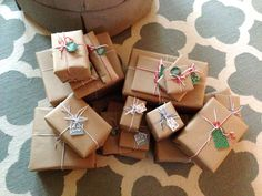 BROWN PAPER PACKAGES -- My Pretty Pennies