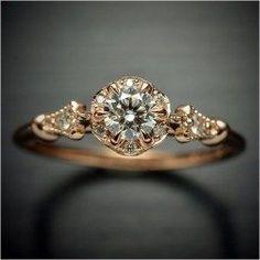 Antique engagement rings vintage (33) #halorings