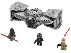 Track down the rebels on Lothal in the top secret TIE Advanced Prototype™!