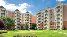 Blakehurst in Towson, MD. Blakehurst, a continuing care retirement community, decided to replace 2,500 windows to  improve both energy-efficiency and comfort. A vinyl and Infinity Ultrex fiberglass test window were installed. Residents quickly selected the Infinity window because of its senior-friendly features, such as the unobtrusive single-lock lever that simultaneously activates both locks, the easy-turn handle that folds neatly out of the way, and the easy-to-remove screens.