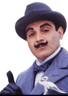 Hercule Poirot will bring precision and purell