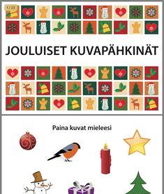 Brain Teasers, Advent Calendar, Children, Kids, Language, Teaching, Holiday Decor, School, Winter