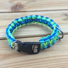 Dog collar custom made with clip-belt in zigzag double design in oceanblue/turqoise/darkmint/limegreen - WWW.HORSECHARMS.EU -  For questions and orders please email us at info@horsecharms.eu  customer pictures can be send by DM - #HorseCharms #HorseCharmsEU #dogtack #hondenhalsband #dogcollar #dogcollars #ropedogleash #dogleash #halsband #hondenriem #dogtraining #hondentraining #dogsofinstagram #dogs #dog #hond by horsecharmseu