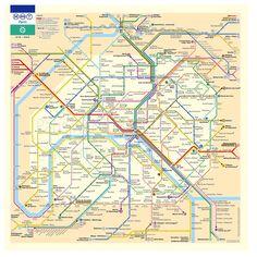 Marre de prendre le métro parisien alors que vous n'avez qu'entre une à cinq petites stations à réaliser à pied ? On vous conseille cette carte.