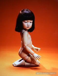 Шарнирные куклы от Otake Kyo (Отаке Кё, Япония)