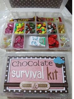 Want to do this so when I want to eat chocolate I will have a full box full of it.
