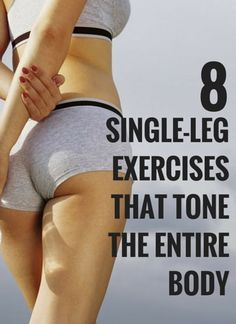 One legged moves to balance out the left and right sides of your body. #health #fitness #workout