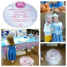 Disney Cinderella Princess Party and Retailtainment Event at Walmart #DisneyPrincessWMT #CBias